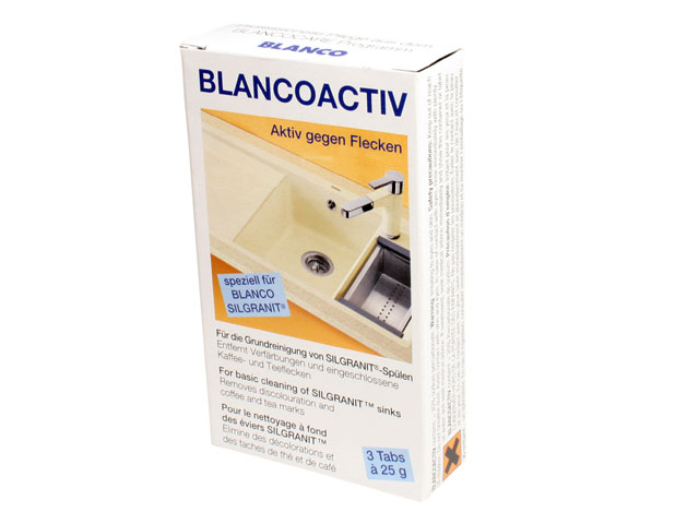 BLANCOACTIV BLANCO ACTIV ŚRODEK DO PIELĘGNACJI ZLEWOZMYWAKÓW GRANITOWYCH