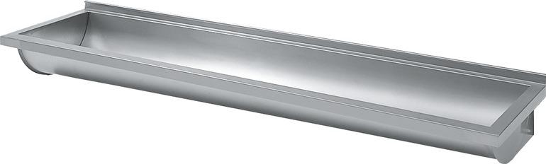 Umywalka długa wielostanowiskowa umywalka rynnowa 1000 x  224 x 400 BX 100 L/R
