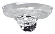 Mydelniczka szklana Aqualine JE 308 chrom