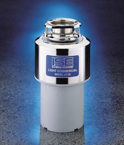 M�ynek do zlewu  do odpad�w m�ynki do zlew�w / rozdrabniacz odpadk�w organicznych ISE Model LC Koloidalny, Komercyjny - 50 z syfonem