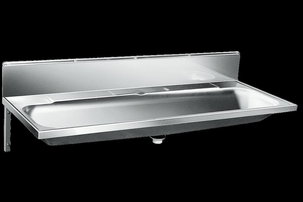 Umywalka d�uga wielostanowiskowa umywalka rynnowa P180 V z panelem